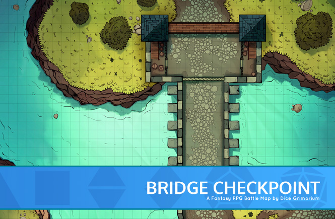 Bridge Checkpoint Battle Map Promo