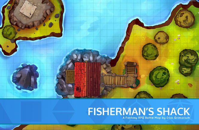Fisherman's Shack Battle Map Promotional