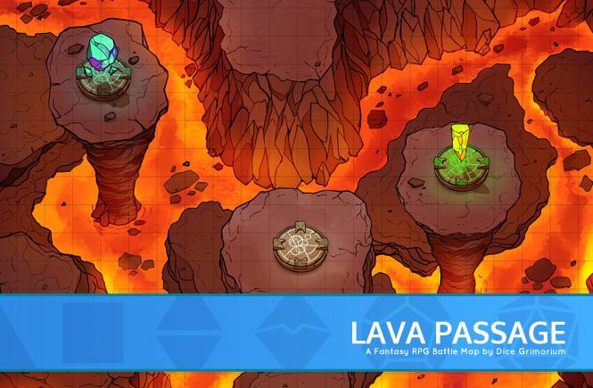 Lava Passage Banner