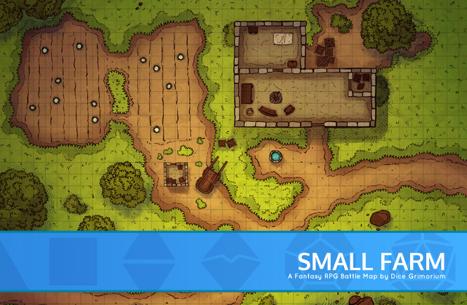 Small Farm Battle Map Banner