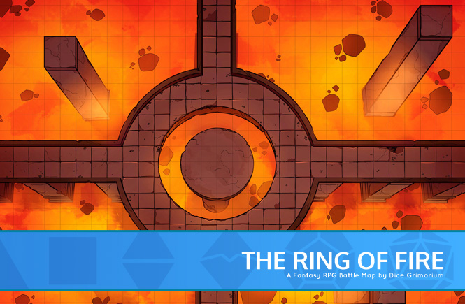 Ring Of Fire Battle Map Banner