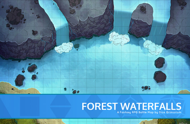Forest Waterfalls Banner