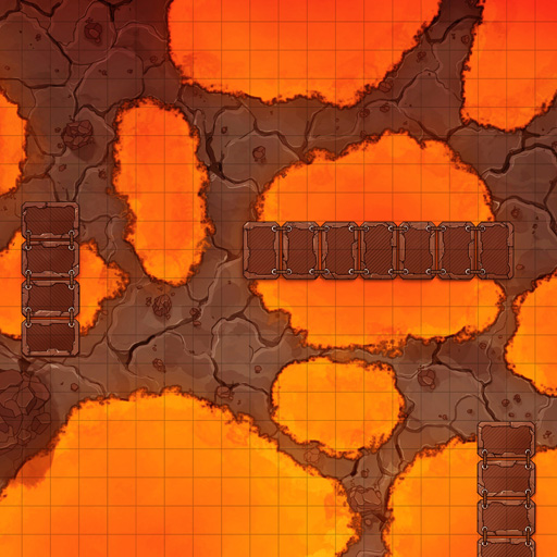 Lava Pools Battle Map Thumb