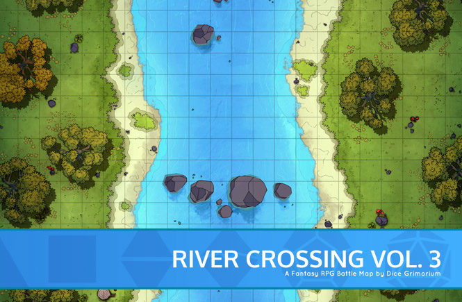 Forest River Battle Map Banner