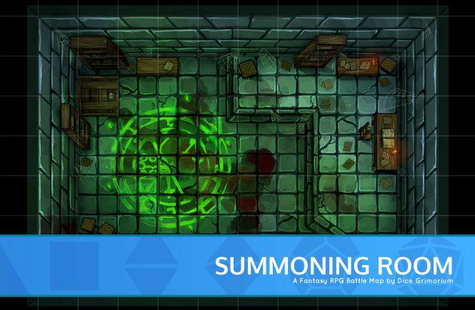 Summoning Room Battle Map Banner