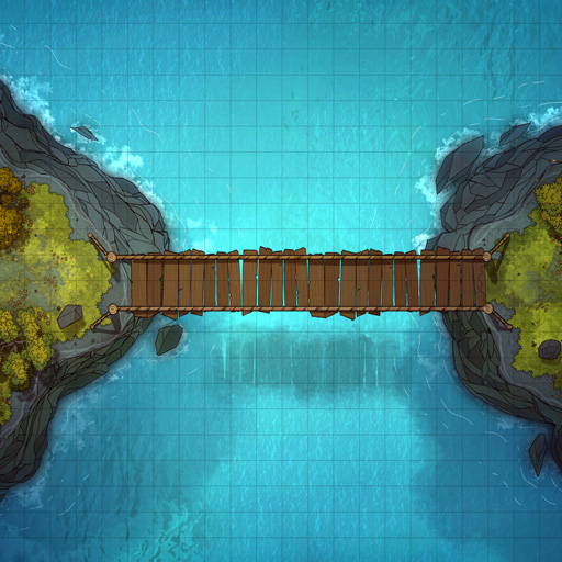 Cliff-side Hanging Bridge Battle Map Thumb