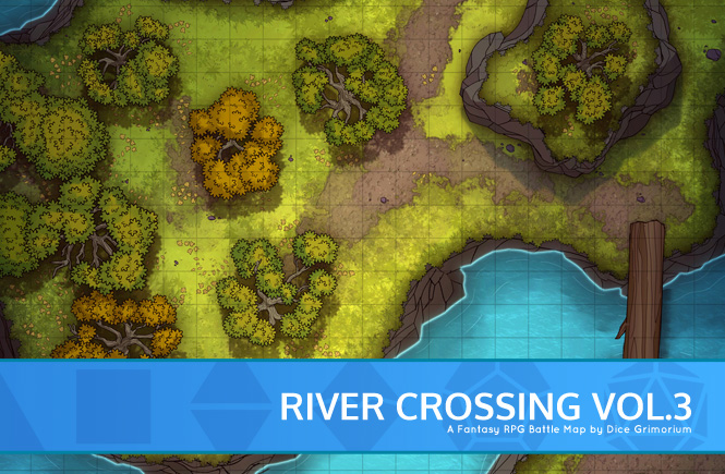 River Crossing Vol. 3 Battle Map Banner