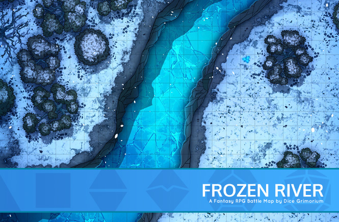 Frozen River Battle Map Banner