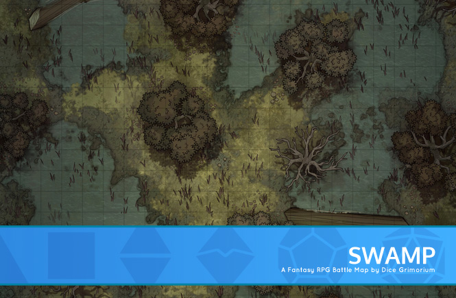 Swamp Battle Map Banner
