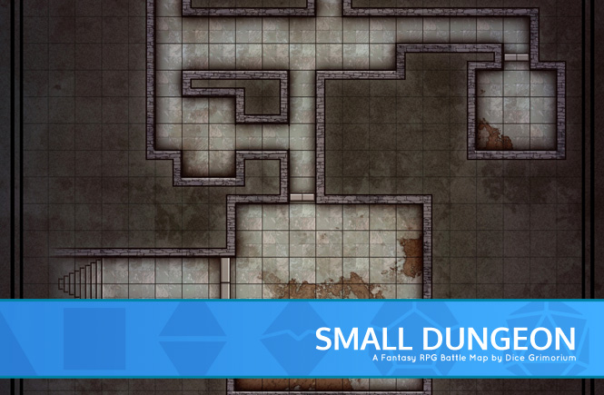 Small Random Dungeon Battle Map Banner