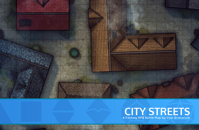 City Streets Battle Map Banner