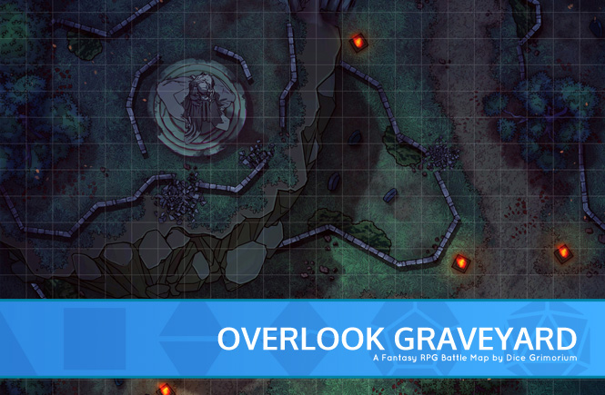 Overlook Graveyard Battle Map Banner