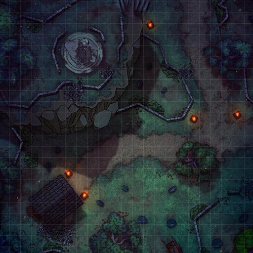 Overlook Graveyard Battle Map Thumb