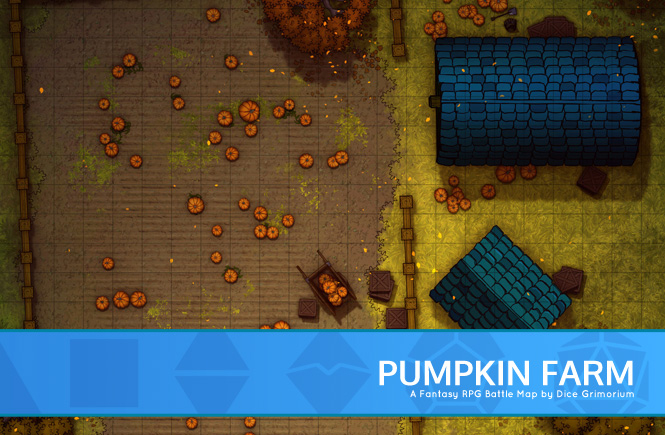 Pumpkin Farm Battle Map Banner
