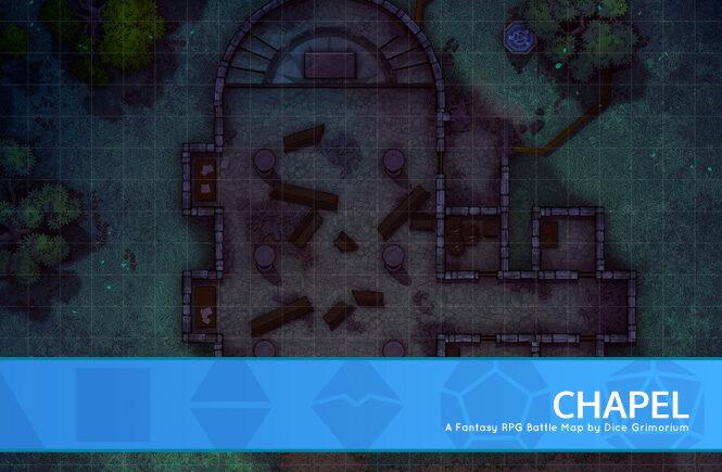 Chapel Battle Map Banner
