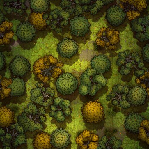 Forest Wilderness Vol. 3 Battle Map Thumb