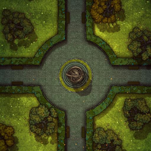 Royal Garden Crossroads Battle Map Thumb