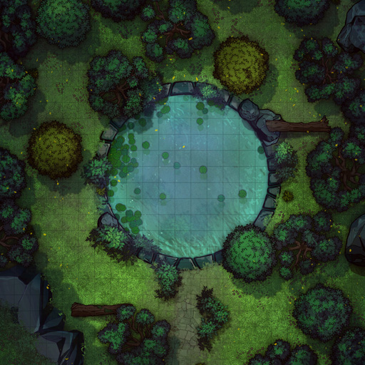 Forest Pond Battle Map Thumb