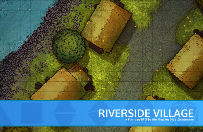 Riverside Village Battle Map Banner