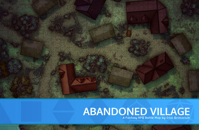 Abandoned Village Battle Map Thumb