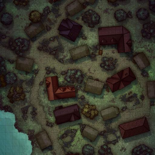 Abandoned Village Battle Map Thumb