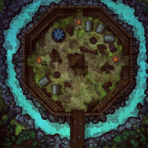 Forest Bandit Fort Battle Map Thumb