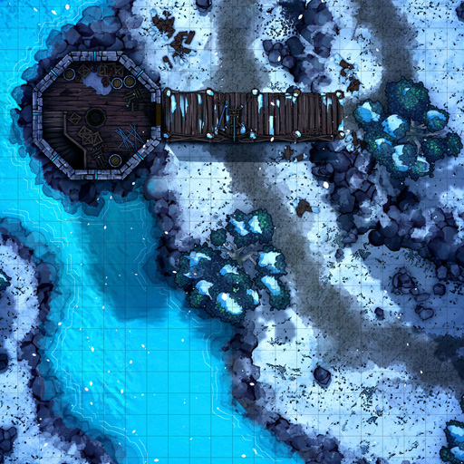 Snowy Watchtower Battle Map Thumb