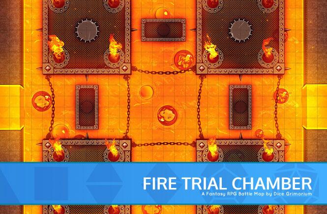 Fire Trial Chamber Battle Map Banner