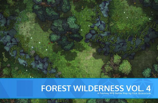 Forest Wilderness Vol. 4 Battle Map Banner