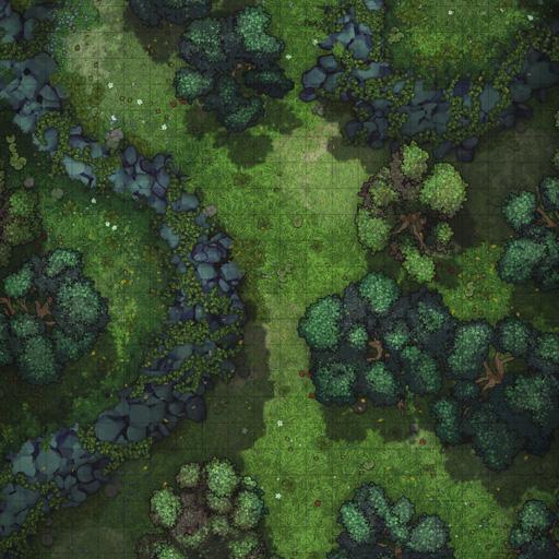 Forest Wilderness Vol. 4 Battle Map Thumb