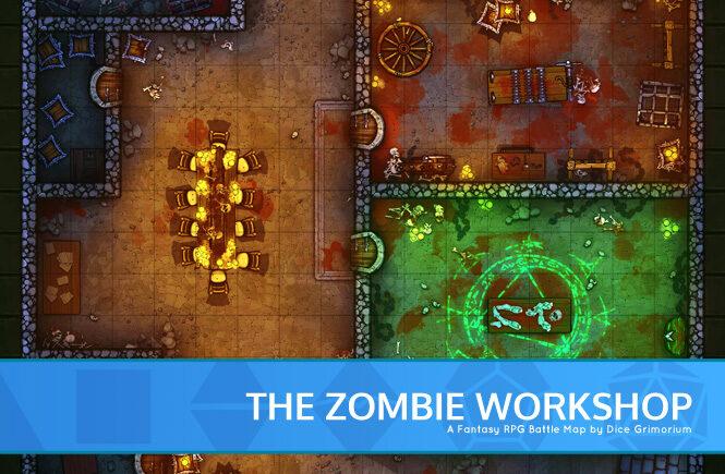 Zombie Workshop Battle Map Banner