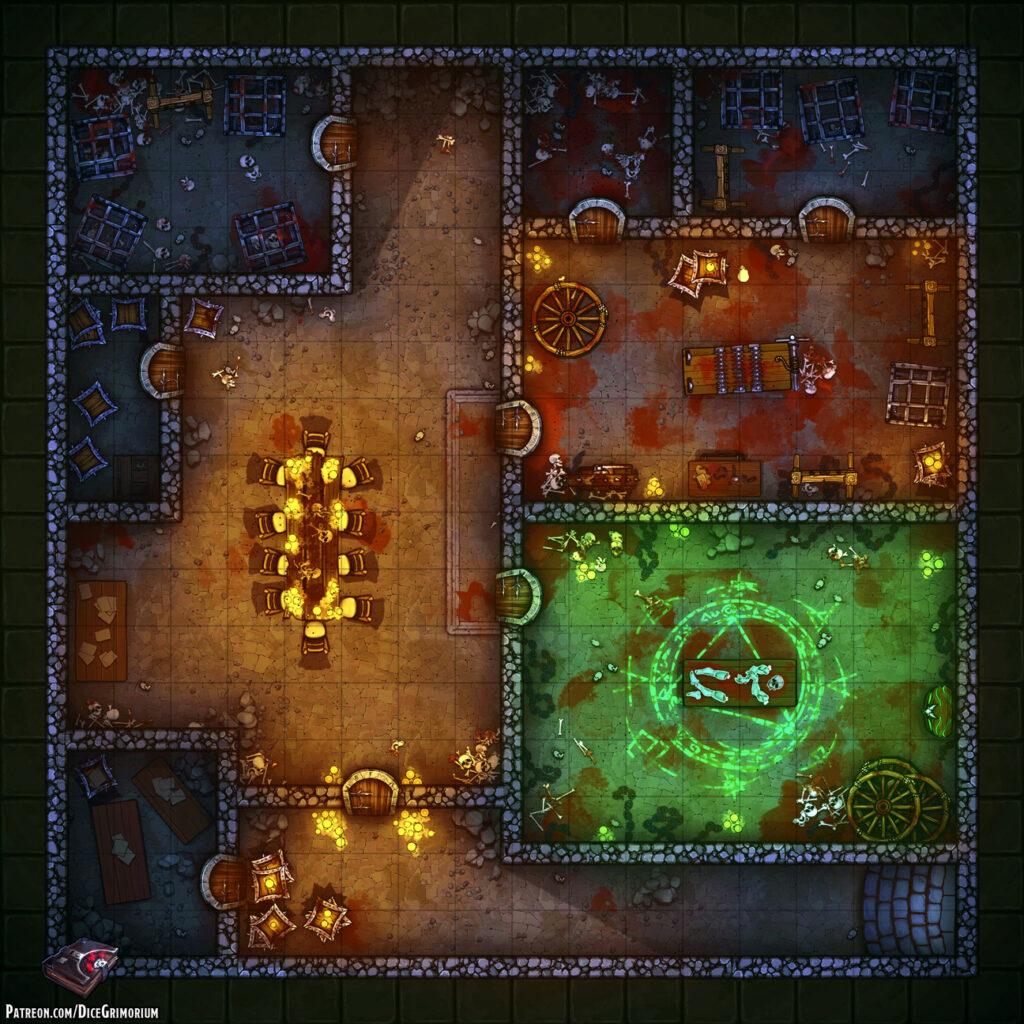 Zombie Workshop Battle Map