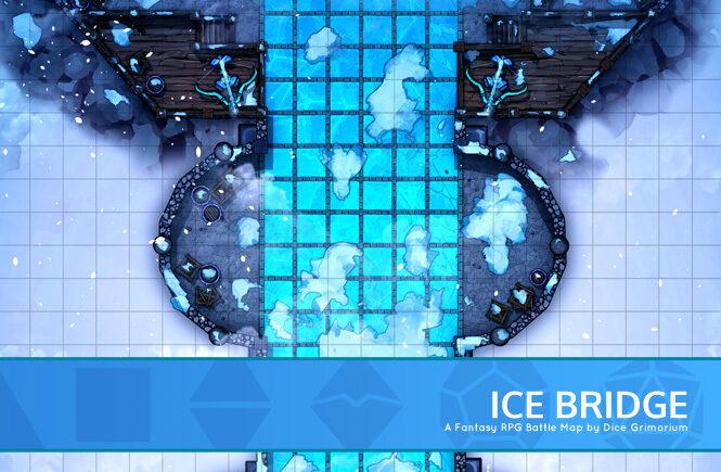Ice Bridge Battle Map Banner