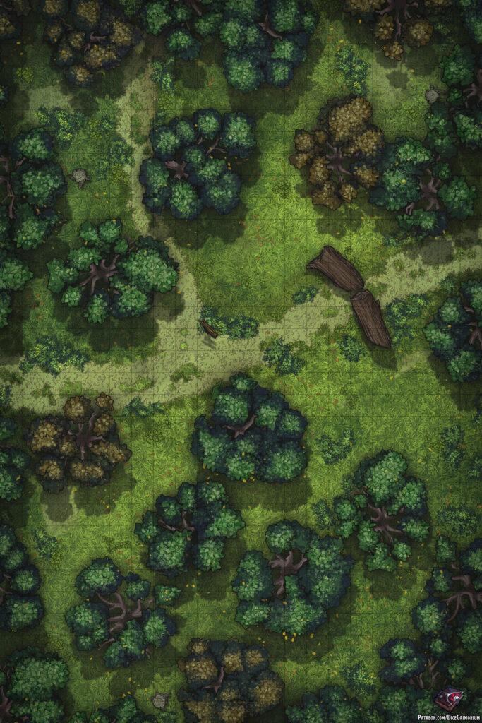 Forest Path Vol. 6 Battle Map