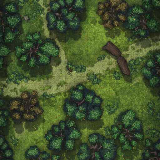 Forest Path Vol. 6 Battle Map Thumb