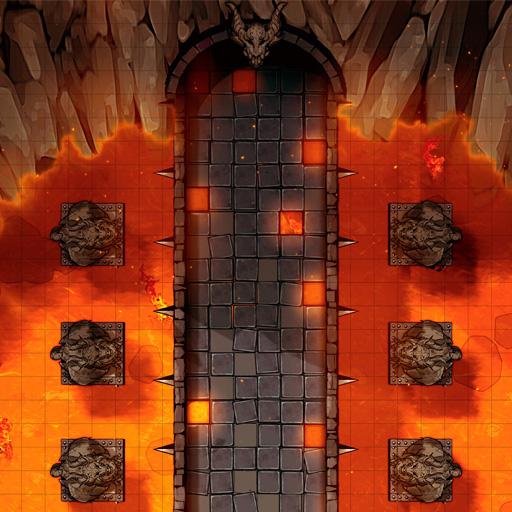 Lava Bridge Battle Map Thumb