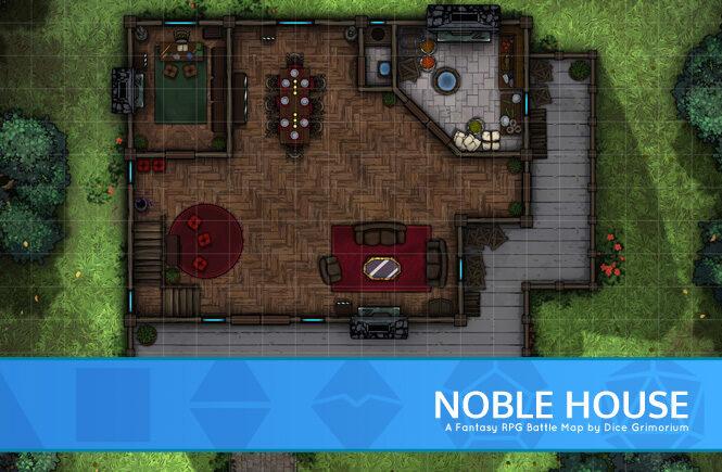 Noble House Battle Map Banner