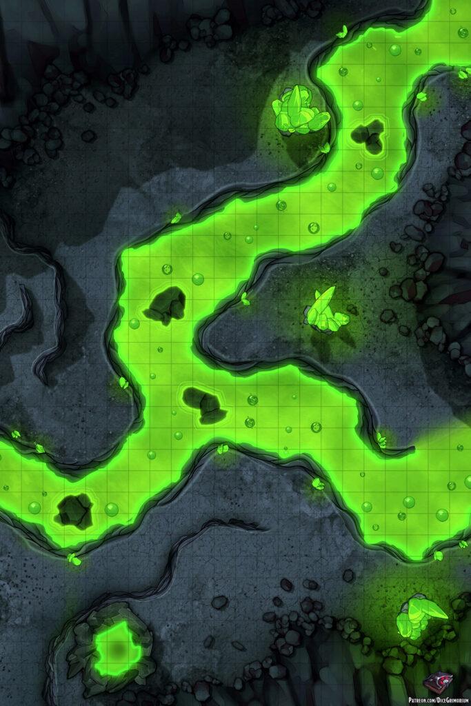 Acidic Passage Vol. 2 Battle Map