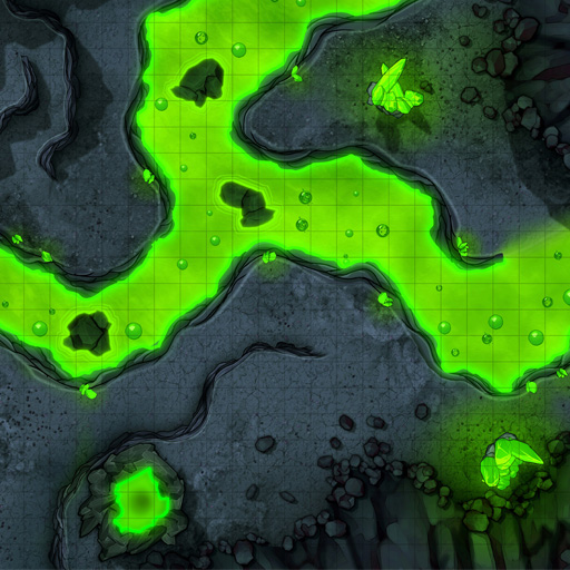 Acidic Passage Vol. 2 Battle Map Thumb